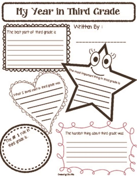 new year activities for grade 1 end of the year reflection worksheet free by
