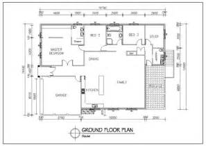 autocad house plans 2d house design ideas