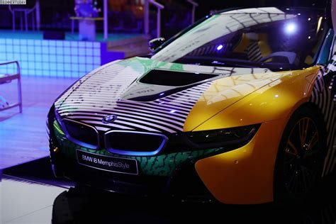 event design memphis new photos of the stylish bmw i8 memphis style edition