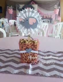 Elephant Baby Shower Decorations by Pink And Gray Elephant Themed Centerpiece Pink And Gray