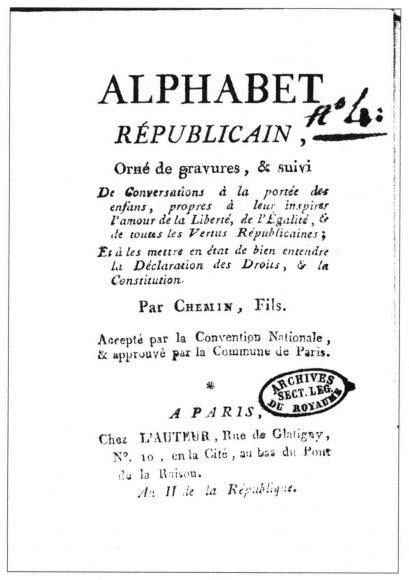 the letter l apprendre 224 lire et id 233 ologie politique 1661