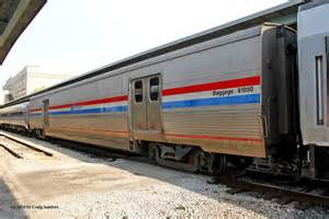 National Rail Sleeper by Inside An Amtrak Viewliner Baggage Car
