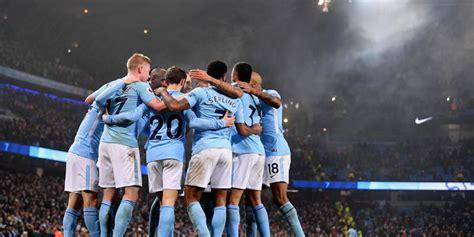 Tshirtt Shirtkaosoblongsablon Bola Klub Manchester City guardiola dan dominasi manchester city di premier league bola net