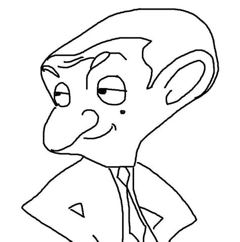 Mr Bean Coloring Pages Coloring Pages Mr Bean Colouring Pages