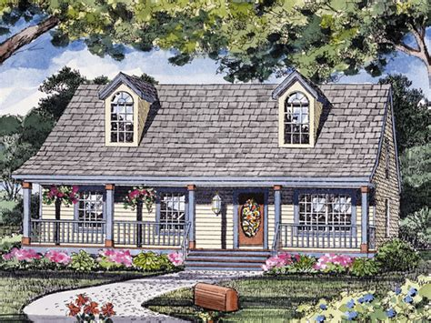 Reddington Acadian Ranch Home Plan 016d 0055 House Plans Small Cajun House Plans