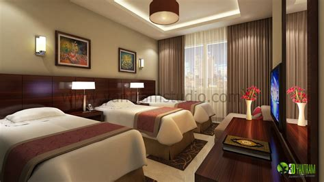 room layout designer modern scandinavian hotel room night view yantram
