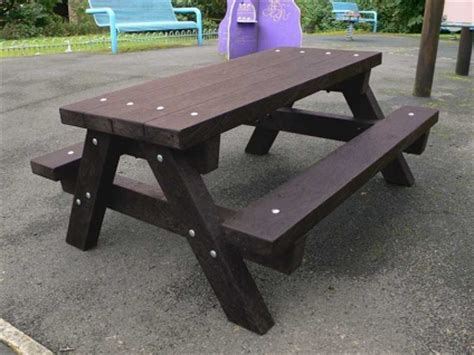 heavy duty plastic picnic tables ribble junior picnic table recycled plastic heavy duty