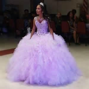 aliexpress buy light purple tulle ruffles gown