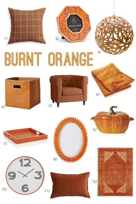 orange home decor accessories bhg style spotters