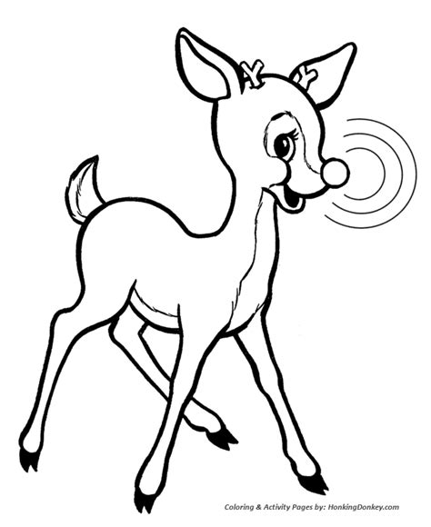 Rudolph Reindeer Pictures New Calendar Template Site Rudolph Reindeer Coloring Pages
