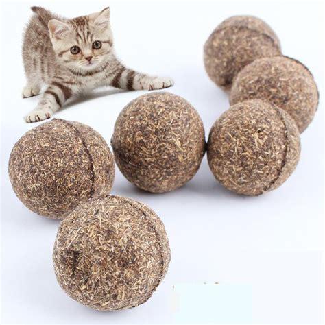 Mainan Kucing Cat Teaser Catnip mainan cakaran kucing bentuk bola aroma catnip cat
