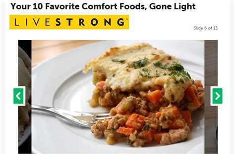 Light Comfort Food by Your 10 Favorite Comfort Foods Light Valerie Cogswell