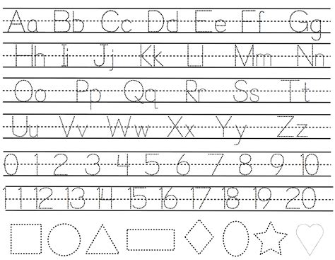 Abc Letter Tracing