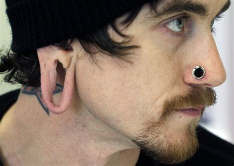 stretched out tattoos top 10 ear piercing types pei magazine