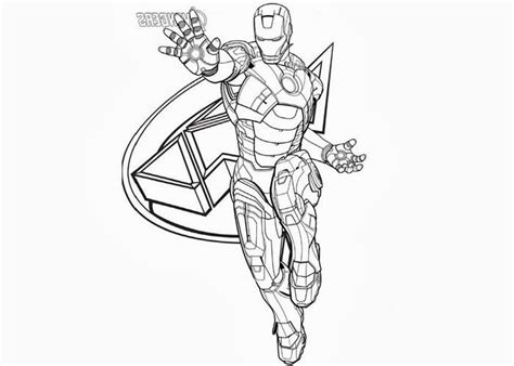 avengers iron man coloring page free printable coloring free coloring pages of all the avengers