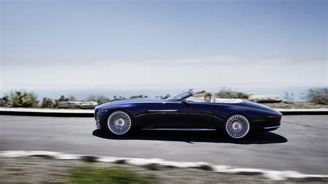 auto maybach vision mercedes maybach 6 cabriolet electrifies pebble