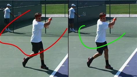 tennis forehand swing path federer forehand grip images