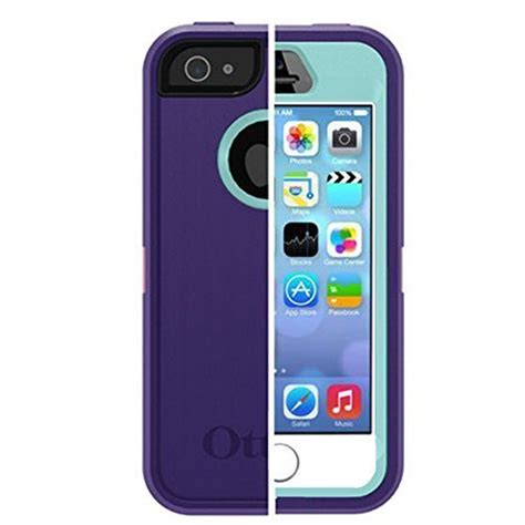 Belt Clip Iphone 5 5s Se Dompetsarunghptasikat Pingga 602 otterbox iphone 5 5s se defender with belt clip holster in retail packaging purple your 1