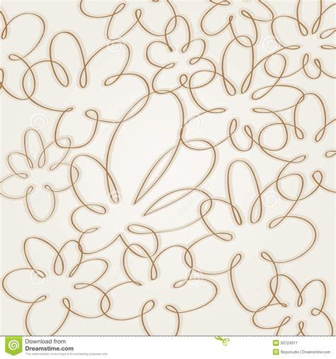flower pattern line art flower background stock vector image 50724311