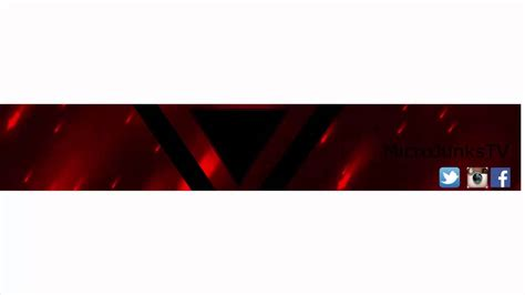 youtube layout vorlage gratis youtube kanal banner template 001 microjunkstv