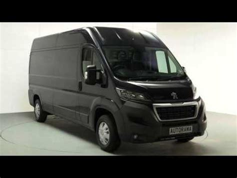 peugeot van 2017 2017 peugeot boxer van full review 2017 youtube