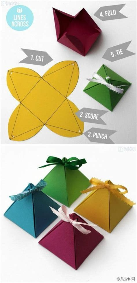 image via gift box patterns image via pyramid gift box