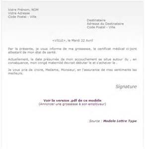 Exemple De Lettre De Démission Pendant La Periode D Essais Modele Lettre Grossesse Reduction Temps Travail Document
