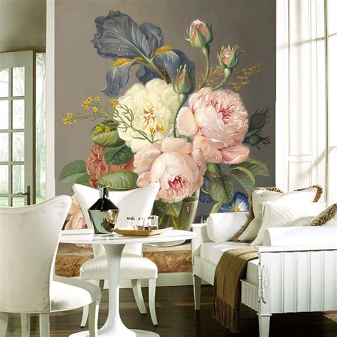 silk decor home accents aliexpress com buy custom luxury wallpaper elegant