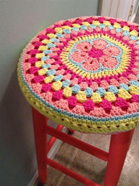 Dessus De Tabouret by Dessus De Tabouret En Crochet Crochet