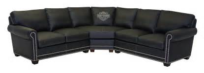 Custom Made Leather Sofas Hd 5748 Sectional Harley Davidson 174 Enthusiast Furniture