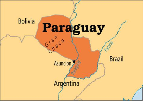 paraguay world map paraguay operation world