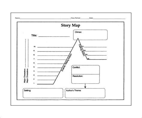 story mapping template 10 story map templates free word pdf format
