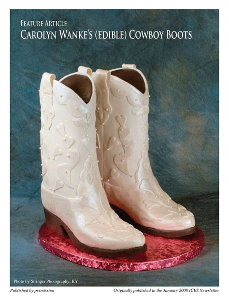 boot cake template 736px