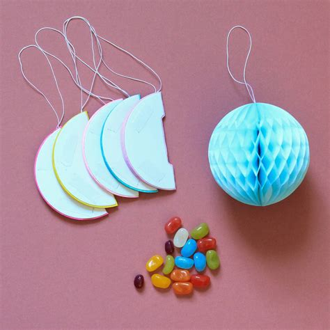Make Tissue Paper Balls - honeycomb tissue paper balls by berylune