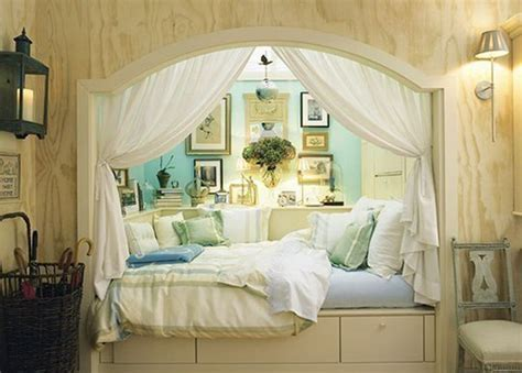 bed nook bed in alcove home decorating ideas