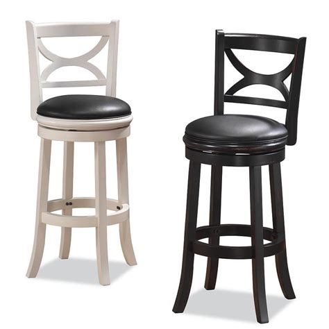 Swivel Counter Stools With Backs Dining Room Kitchen Counter Stools Swivel And Bar Stools
