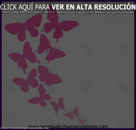 imagenes de invitaciones mariposas excelentes tarjetas para 15 a 241 os para hacer f 224 ciles