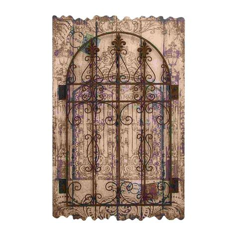 Garden Gate Wall Decor 20 Collection Of Metal Gate Wall Wall Ideas