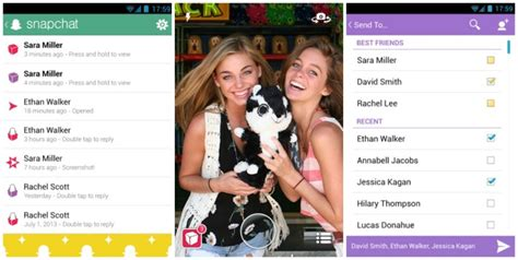 new snapchat update android snapchat for android gets new holo fied ui in update