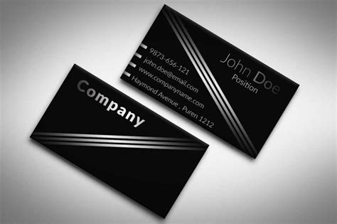 adobe photoshop business card template black and white business card template suitable