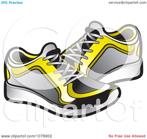 clip running shoes running sneakers clip clipart panda free clipart