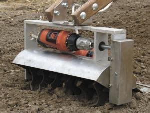 farm show battery powered drill powers garden tiller