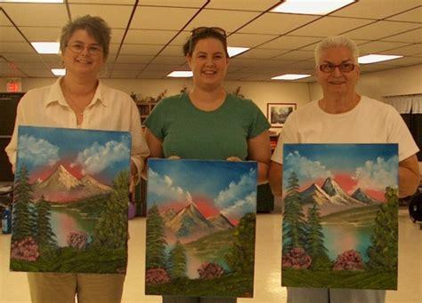 bob ross painting classes florida class photos page 2