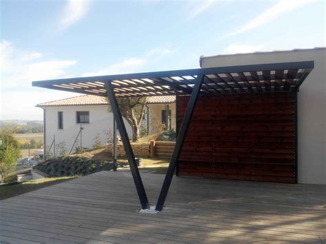 House With Carport pergolas sur mesure toulouse haute garonne 31