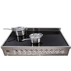 induction cooker zigma britannia siine10xgslxk 100cm wide sigma xg electric range cooker with induction hob gloss