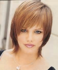 below chin length layered hairstyles best hairstyles for fine thin hair with bangs