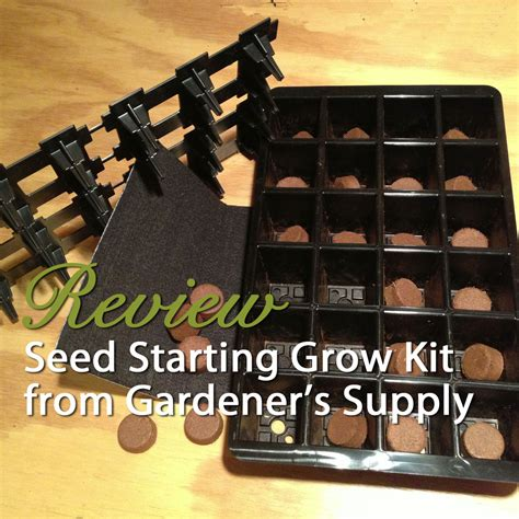 Gardener S Supply Seed Starting Seed Starting Grow Kit From Gardener S Supply Product Review