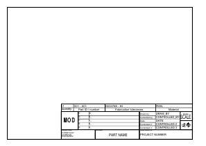 draftsight architectural templates file a4 landscape svg freecad documentation