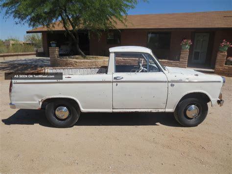 vintage datsun 1964 vintage nissan datsun el camino truck