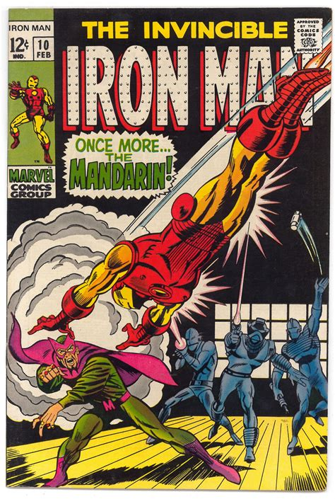 iron in my books iron 10 vf nm da card world